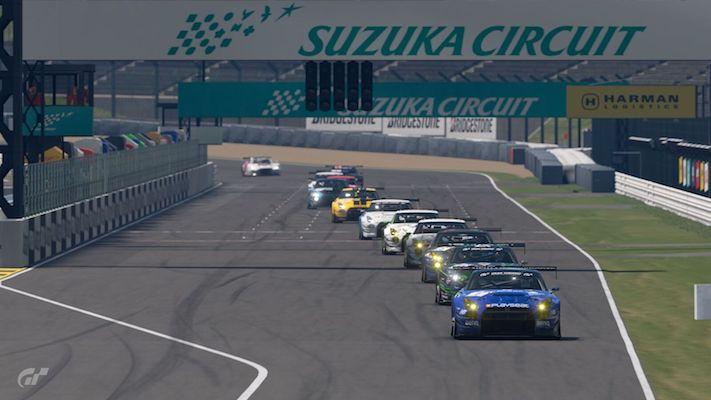 Gran Turismo : Le départ de la course Nations Cup