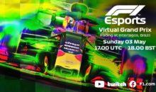 Formule 1 virtuelle, départ aujourd'hui 19H00 !