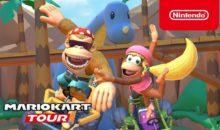 Mario Kart Tour invite les potes de Donkey Kong !