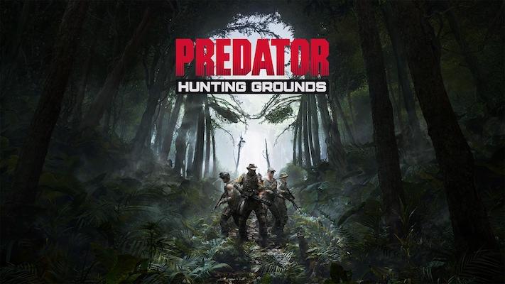 Predator : Hunting Grounds : L'écran d'accueil du jeu
