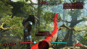 Predator Hunting Grounds : Le Predator utilisant le Predkour dans un arbre