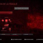 Predator : Hunting Grounds : Le menu d'avant-partie avec le Predator