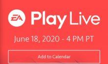 EA Play Live : suivez les annonces Electronic Arts en direct !
