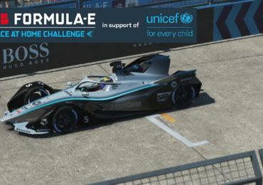 Formule E : La voiture virtuelle de Stoffel Vandoorne sur RFactor2 lors des deux courses finales à New-York