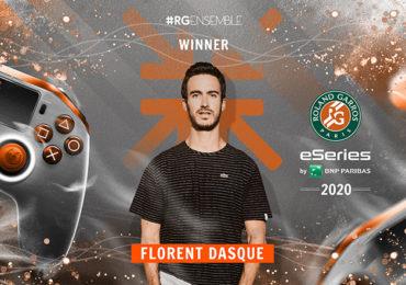 Florent Dasque remporte roland garros esport