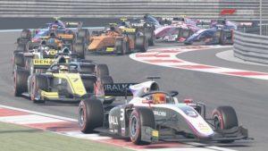 F1 2020 : Un départ de course en F2