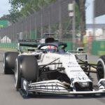 F1 Esports : Une AlphaTauri sur le circuit de Melbourne