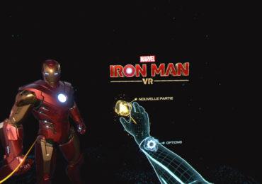 Test de Iron Man VR sur PS4