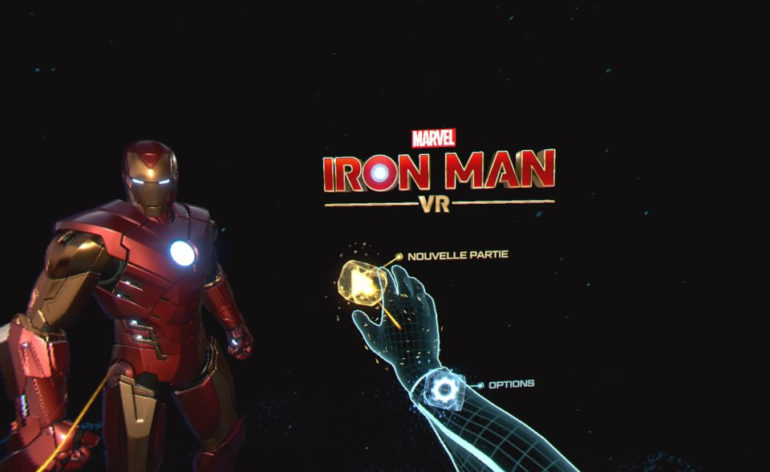 Test de Iron Man VR sur PS4