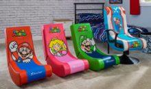 Nintendo : des chaises gaming sous licence à l'effigie de Mario, Luigi et cie