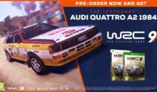 Précommandez WRC 9 et obtenez l'Audi Quattro A2