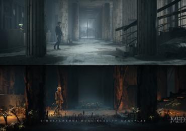 The Medium : image présentant les deux mondes