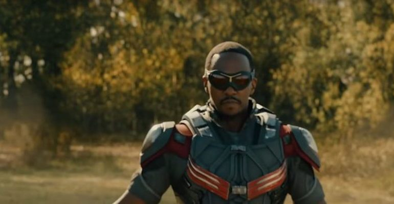Disney+ : Anthony Mackie, le faucon (crédit photo - Marvel)
