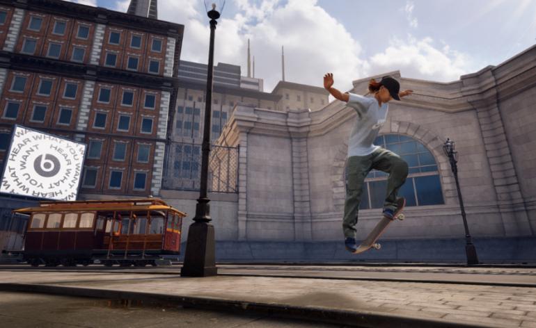 Tony Hawk's Pro Skater : Image tirée du jeu