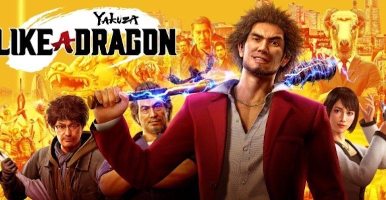 Yakuza : Like a Dragon, affiche du trailer