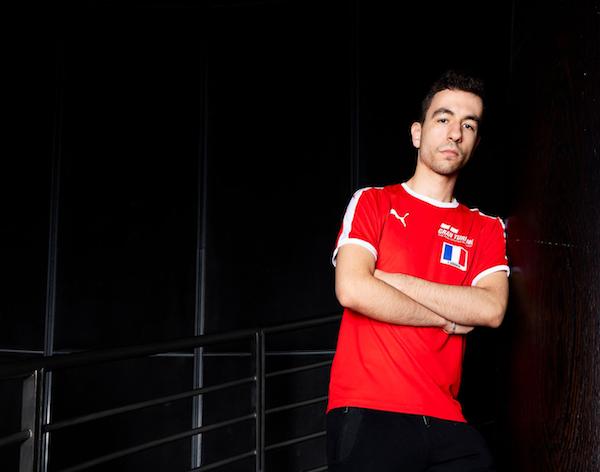 Gran Turismo : Rayan Derrouiche, bras croisés