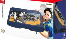 Switch : le stick Real Arcade Pro V Street Fighter en promo