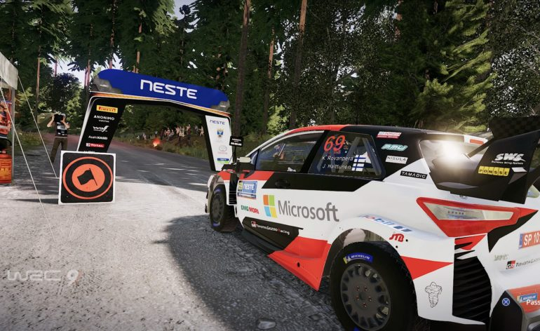 TEST WRC 9 PS4