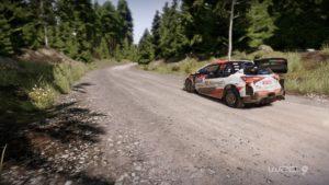 WRC Esports : Image d'une Toyota dans WRC 9