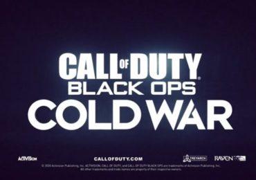 Call of Duty: Black Ops Cold War : Affiche de présentation du jeu
