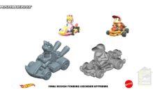 Mario Kart : de nouveaux véhicules chez Hotwheels