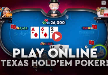 monopoly poker