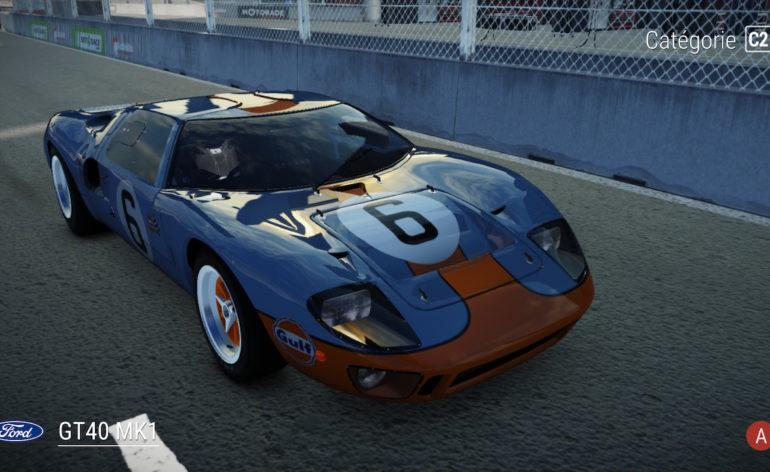 gear club unlimited 2 tracks edition ford gt 40