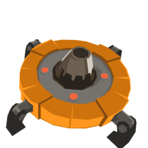 Une mine laser
