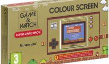 Nintendo revisite le mythique Game & Watch avec écran LCD Couleur [précommande]