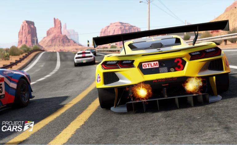 Project Cars 3 : Corvette C8
