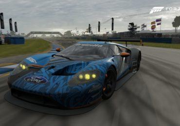 Forza Motorsport 7 : Image d'une Ford GT40 tirée du jeu (Crédit photo : site web Team Fordzilla)