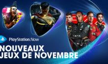PS Now : les jeux de novembre 2020 listés