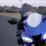 Yamaha sur le circuit de Brands Hatch