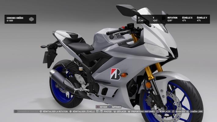 Ride 4 : Personnalisation d'une moto