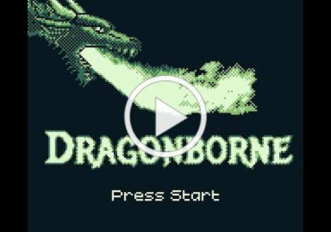 DRAGONBORNE gameboy