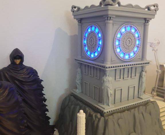 horloge sanctuaire