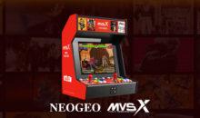 Officiel, l'arcade à la maison en France, avec la Neo Geo MVS-X