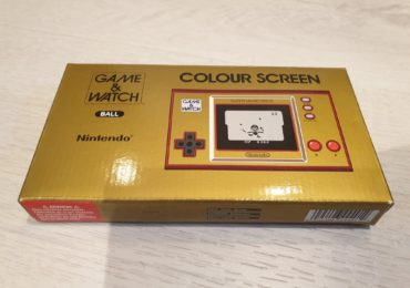 console game & watch mario