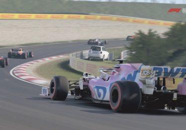 F1 Esports : Une Racing Point sur le circuit de Zandvoort dans F1 2020