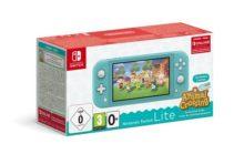 Le pack Switch Lite Animal Crossing débarque chez FNAC