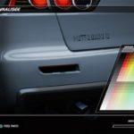 Need For Speed : Le menu de personnalisation de la peinture de son véhicule