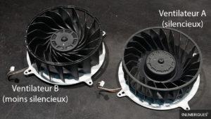 Ventilateurs PS5