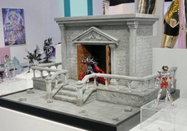 figurines saint seiya myth cloth décors temple hadès