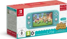 Bon plan : la Switch Lite en pack avec Animal Crossing à -30 euros