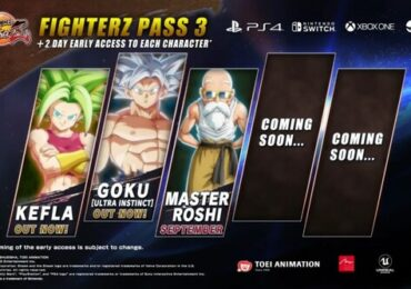 dragon ball fighter z pass 3