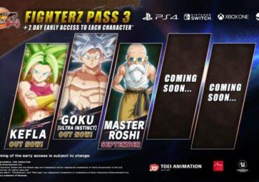 dragon ball fighter z pass 3