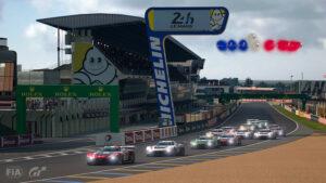 Gran Turismo : Le départ de la finale au Mans (photo de Clive Rose - Gran Turismo/Gran Turismo via Getty Images)