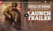 Medal of Honor : Above and Beyond est disponible depuis quelques jours