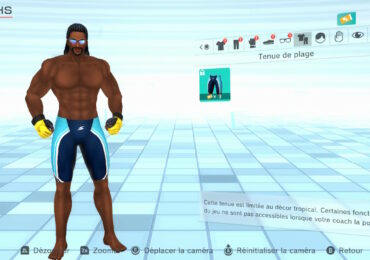 fitness boxing 2 maillot