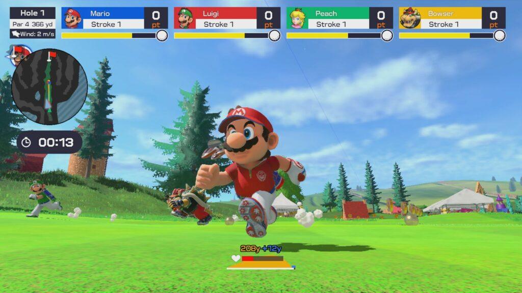 Switch : Mario Golf Super Rush ouvre son site officiel !